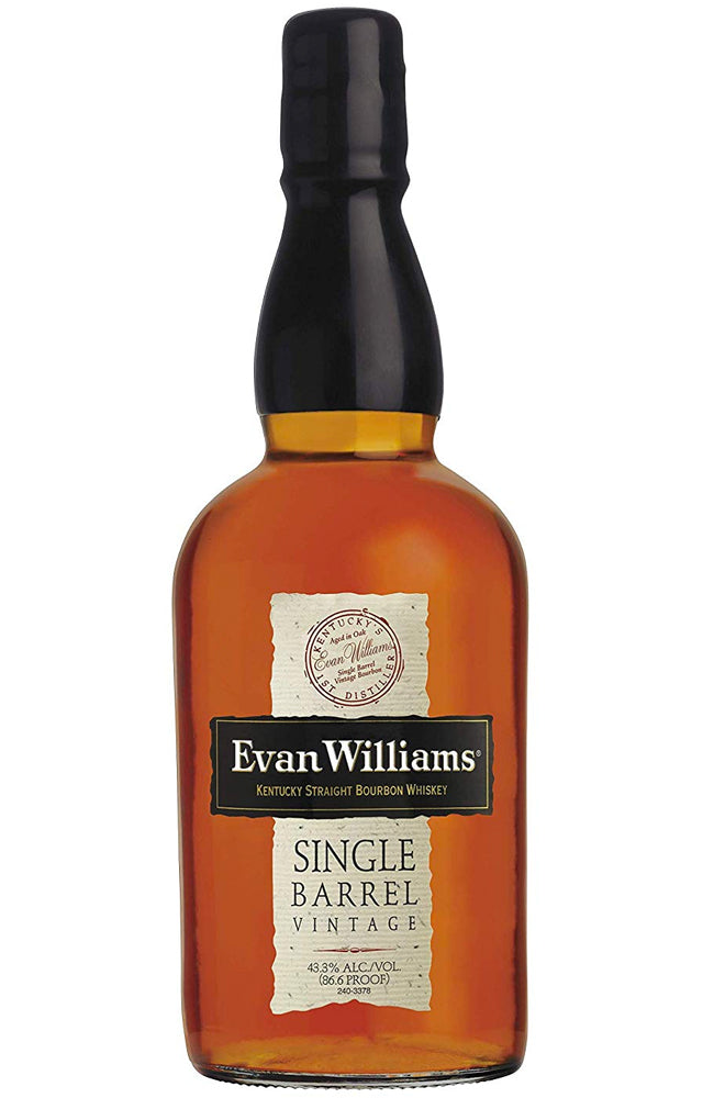 Evan Williams Single Barrel Vintage Kentucky Straight Bourbon