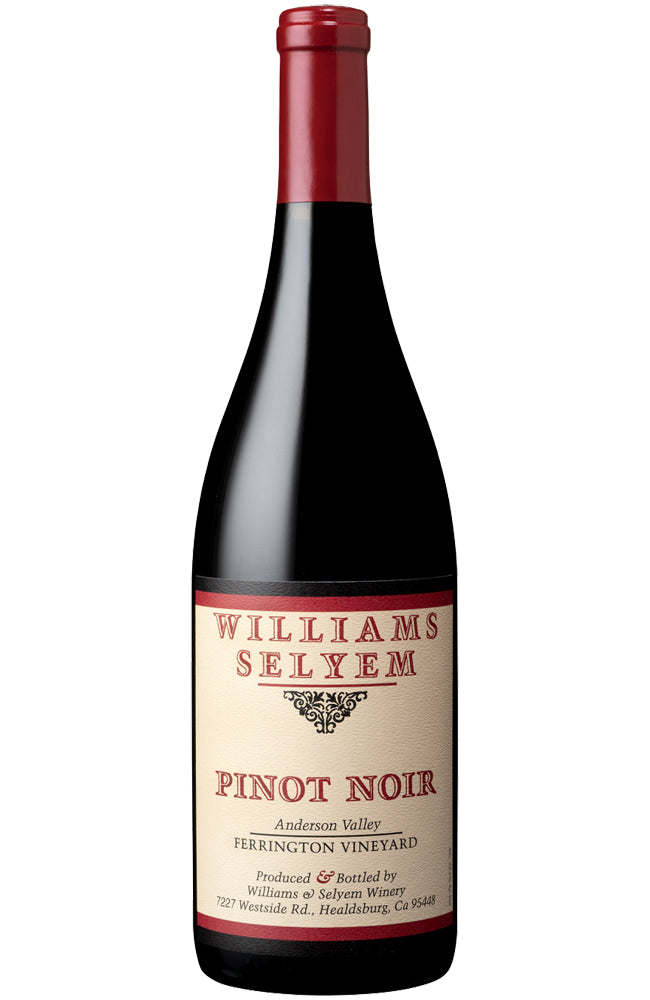 Williams Selyem Ferrington Vineyard Pinot Noir 2016