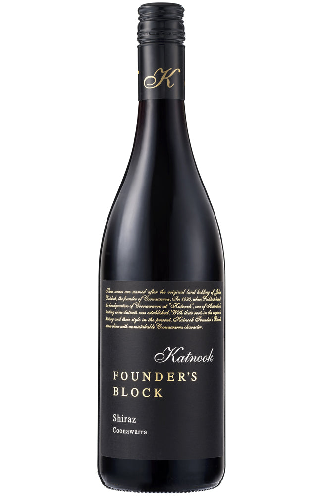 Katnook Estate Founder's Block Shiraz