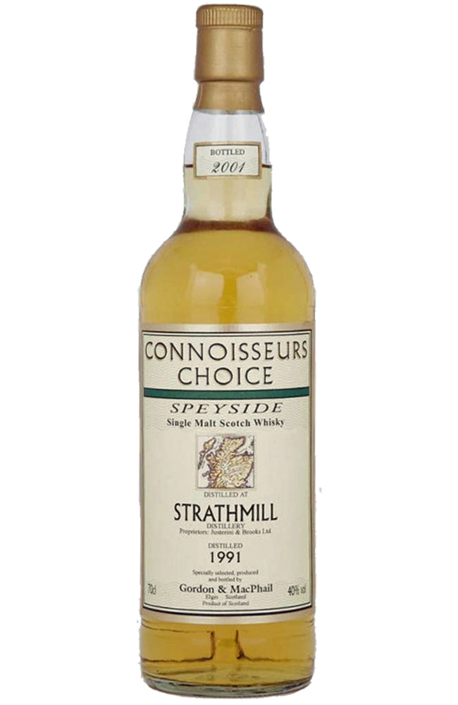 Gordon & MacPhail Connoisseurs Choice Strathmill 1991 Speyside Single Malt Whisky