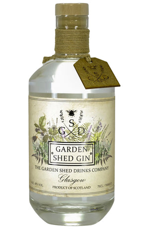 The Garden Shed Drinks Company Garden Shed Gin Bottle
