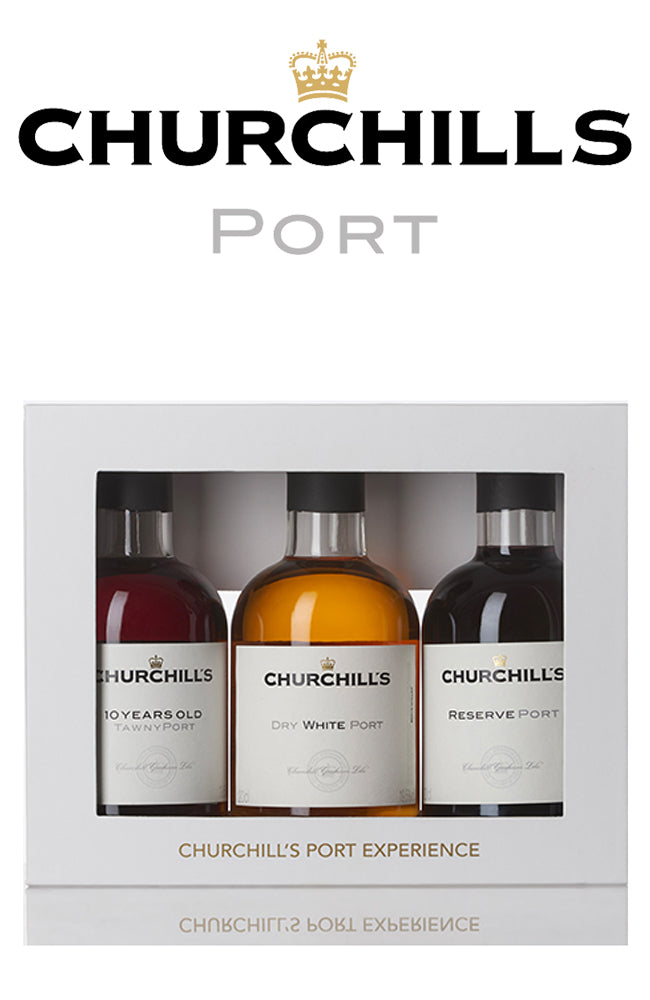 Churchill's Port Gift Experience Trio Pack