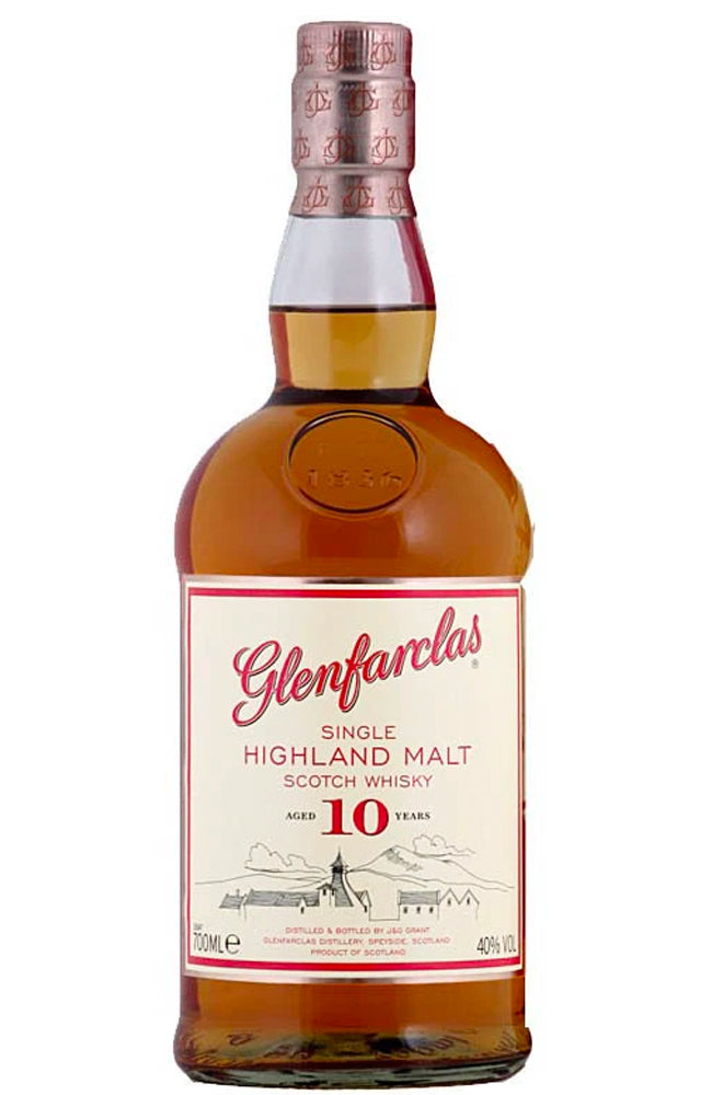 Glenfarclas 10 Year Old Single Highland Malt Scotch Whisky