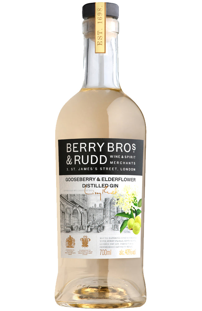 Berry Bros. & Rudd Gooseberry & Elderflower Distilled Gin