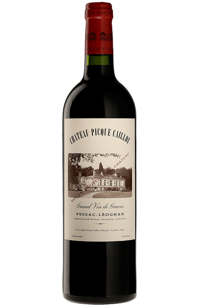 Château Picque Caillou Grand Vin Bordeaux Red Wine
