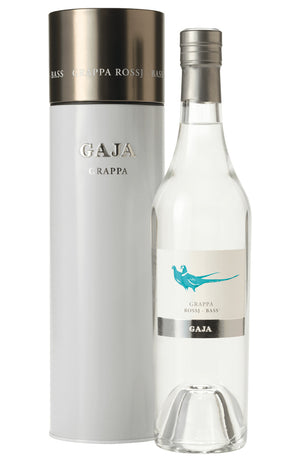 GAJA Rossj-Bas Grappa in Gift Tube