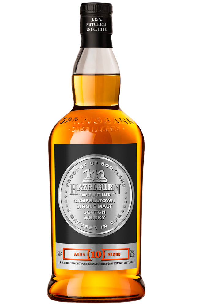 Hazelburn 10 Year Old Campbeltown Single Malt Scotch Whisky Bottle