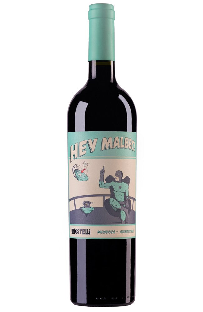 Matías Riccitelli Hey Malbec! Argentinian Red Wine
