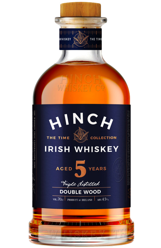 Hinch Irish Whiskey 5 Year Old Double Wood