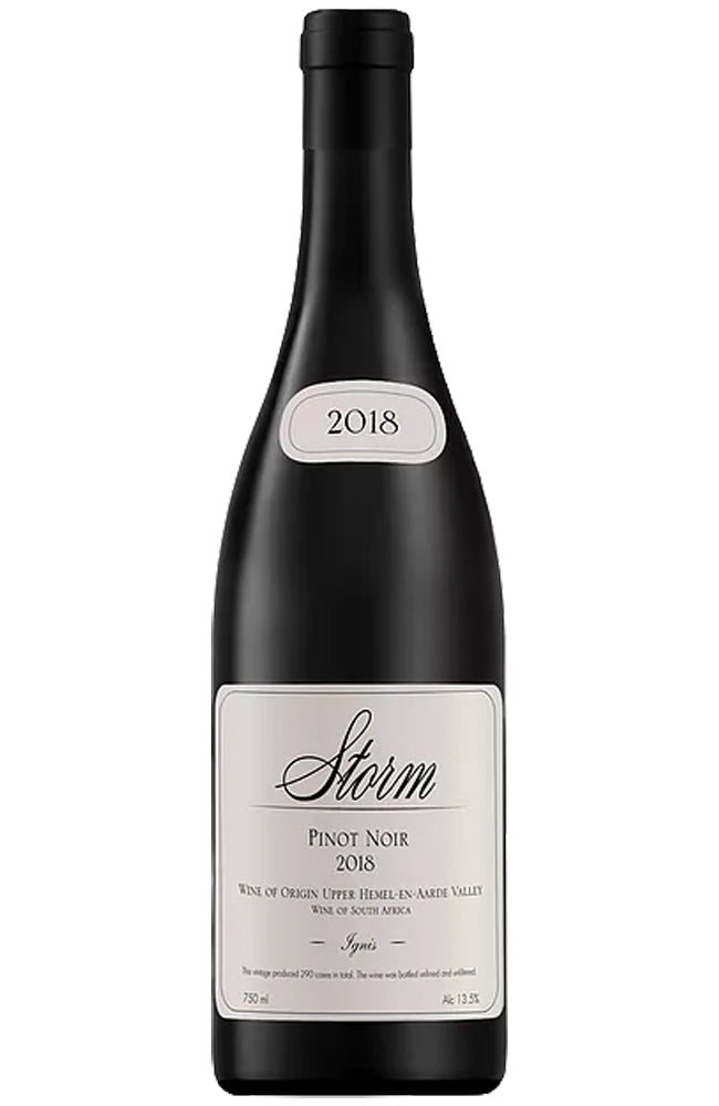 Storm Wines Ignis Pinot Noir Bottle