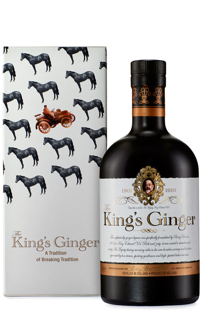 The King's Ginger Liqueur Gift Boxed