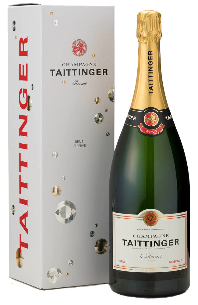 Champagne Taittinger Brut Reserve Magnum Gift Boxed (150cl)