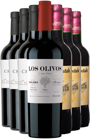 9 Bottles Mixed Case of Malbec & Cahors