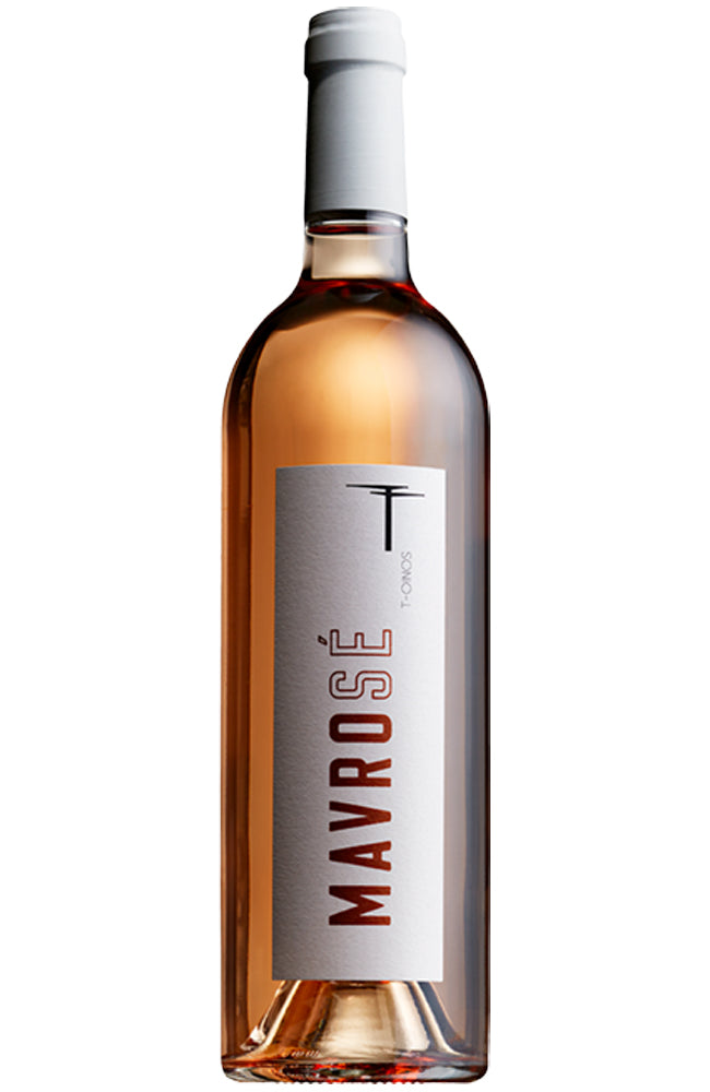 T-Oinos Mavrosé Greek Rosé Wine