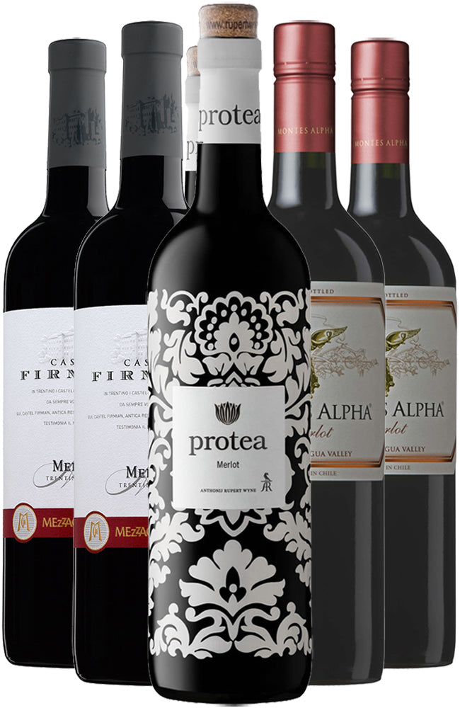 Merlot Six Bottle Mixed Case