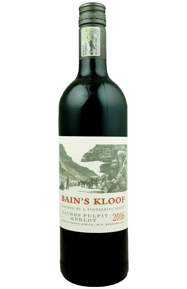 Bergsig Estate Bain's Kloof Dacres Pulpit Merlot