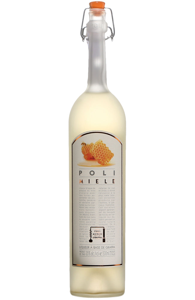 Poli Miele Acacia Honey Grappa Liqueur
