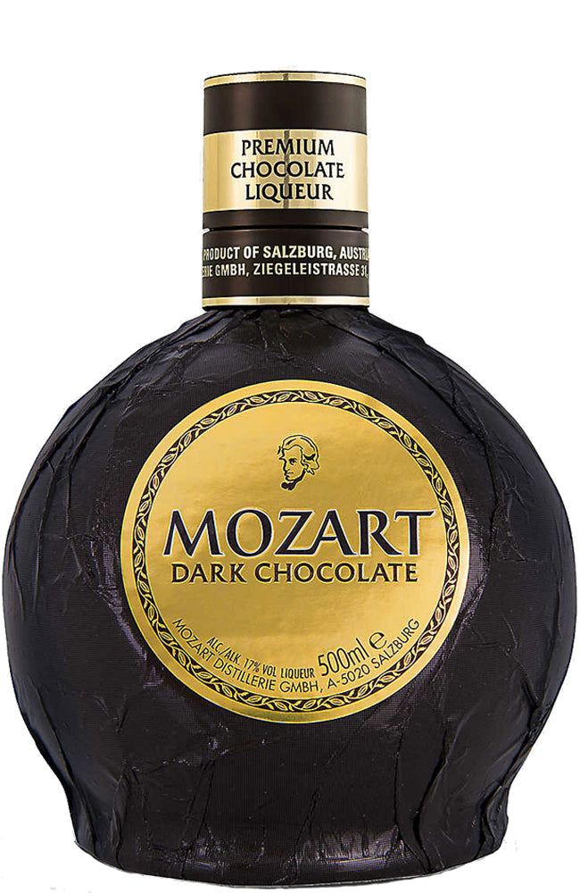 Mozart Bittersweet Dark Chocolate Cream Liqueur