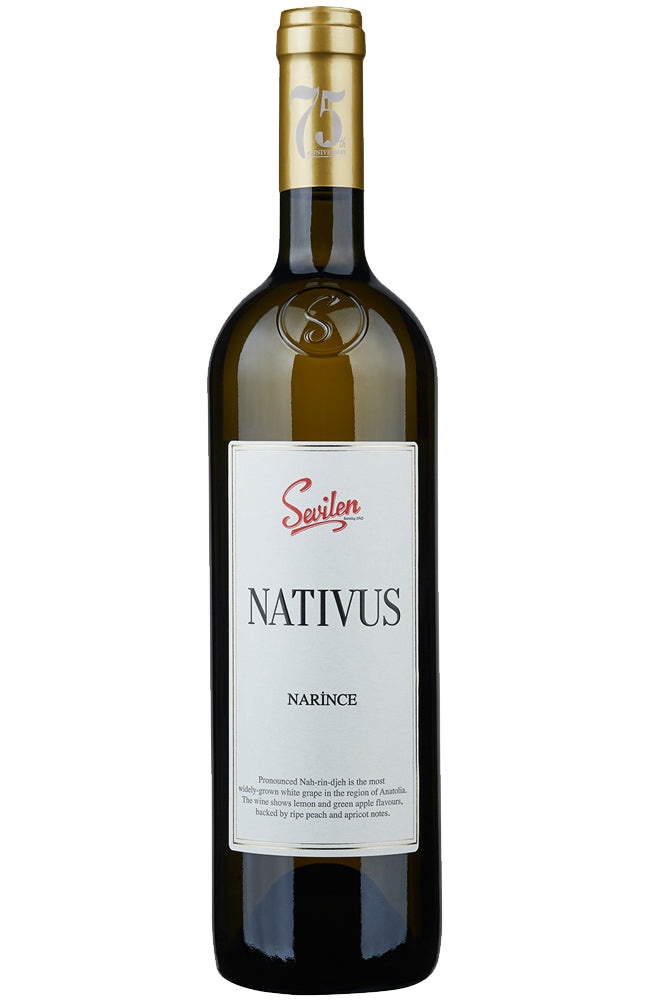 Sevilen Nativus Narince White Wine from Turkey