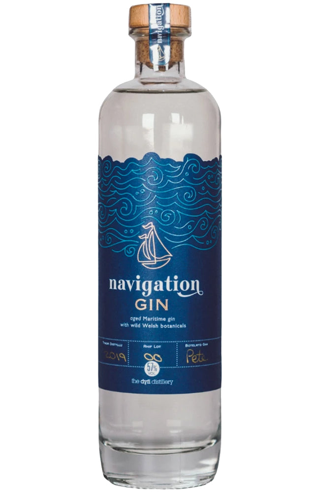 Dyfi Distillery Navigation Navy Strength Gin