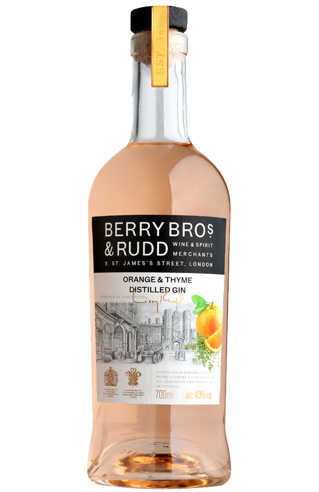 Berry Bros. & Rudd Orange & Thyme Distilled Gin