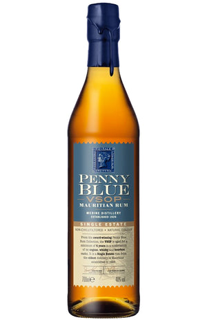 The Indian Ocean Rum Company Penny Blue VSOP Mauritian Rum