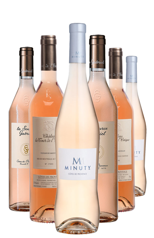 Pick of Provence Six Bottle Mixed Rosé Wine Case