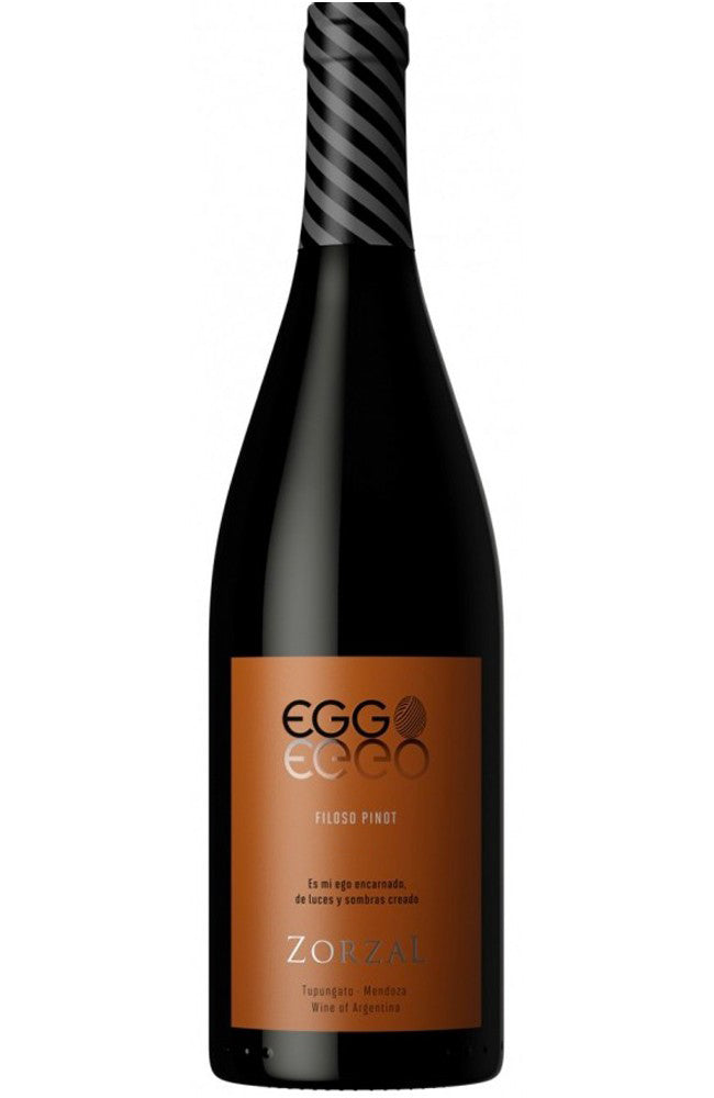 Zorzal Eggo Filoso Pinot Noir Red Wine from Argentina
