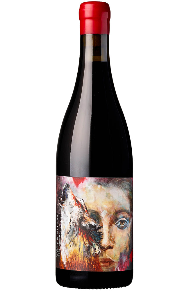 Wolf & Woman Swartland Pinotage Bottle