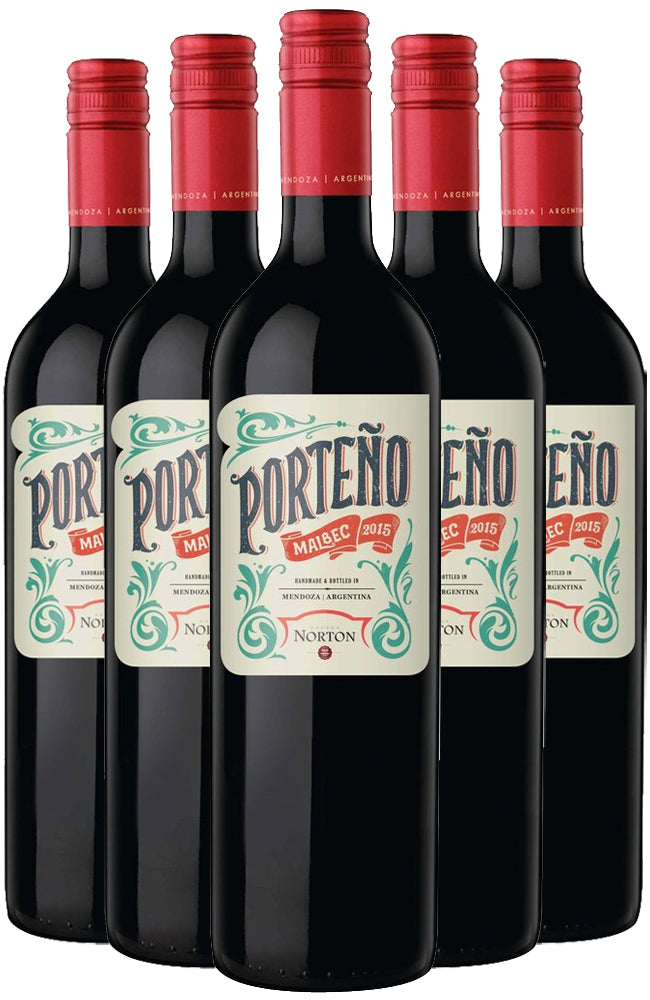 Porteño Malbec 6 Bottle Case