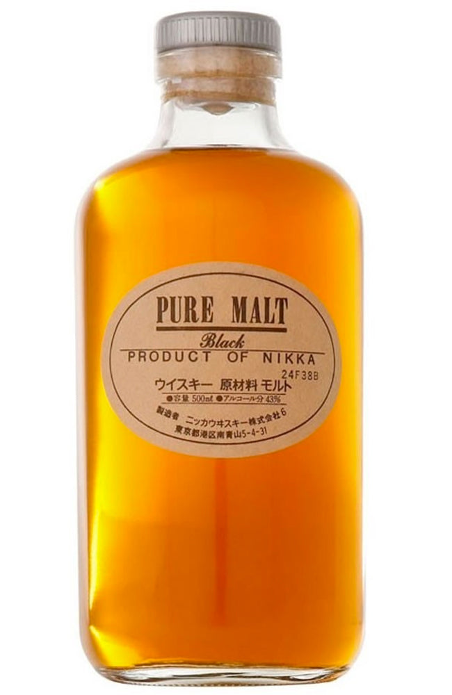 Nikka Pure Malt Black Label Japanese Whisky