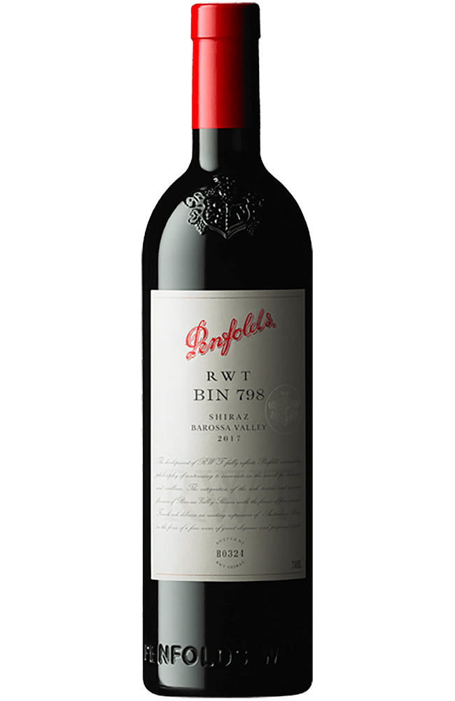 Penfolds RWT Bin 798 Shiraz Bottle