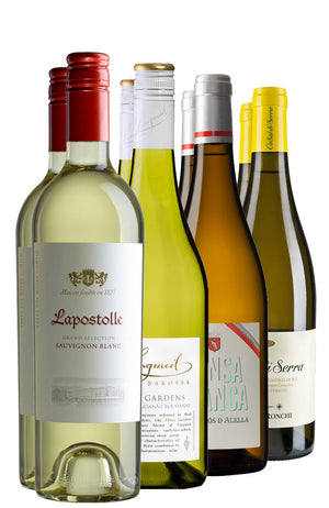 8 Bottles of Assorted Refreshing White Wines