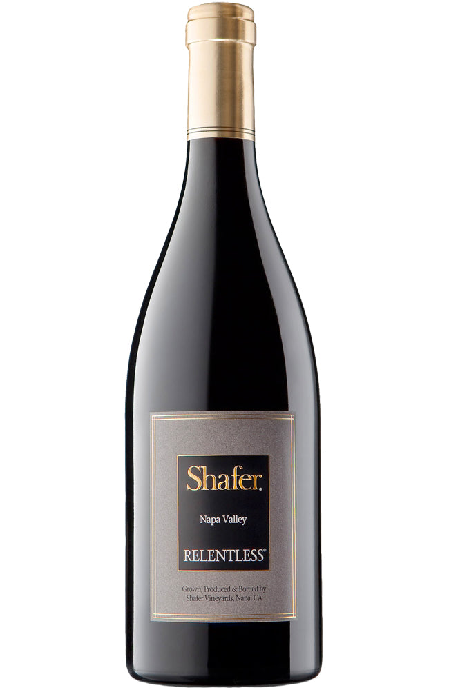 Shafer Vineyards Relentless Red Wine Bottle
