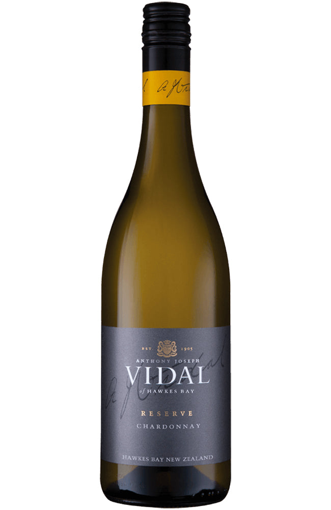 Vidal Estate Reserve Chardonnay Bottle
