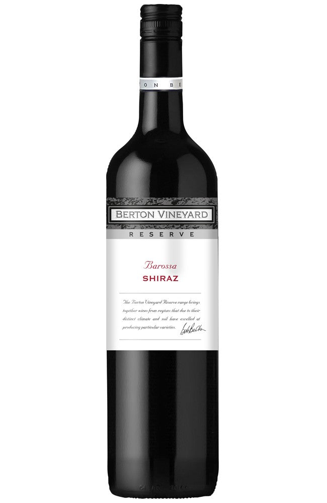 Berton Vineyard Barossa Shiraz Reserve Australian Red Wine