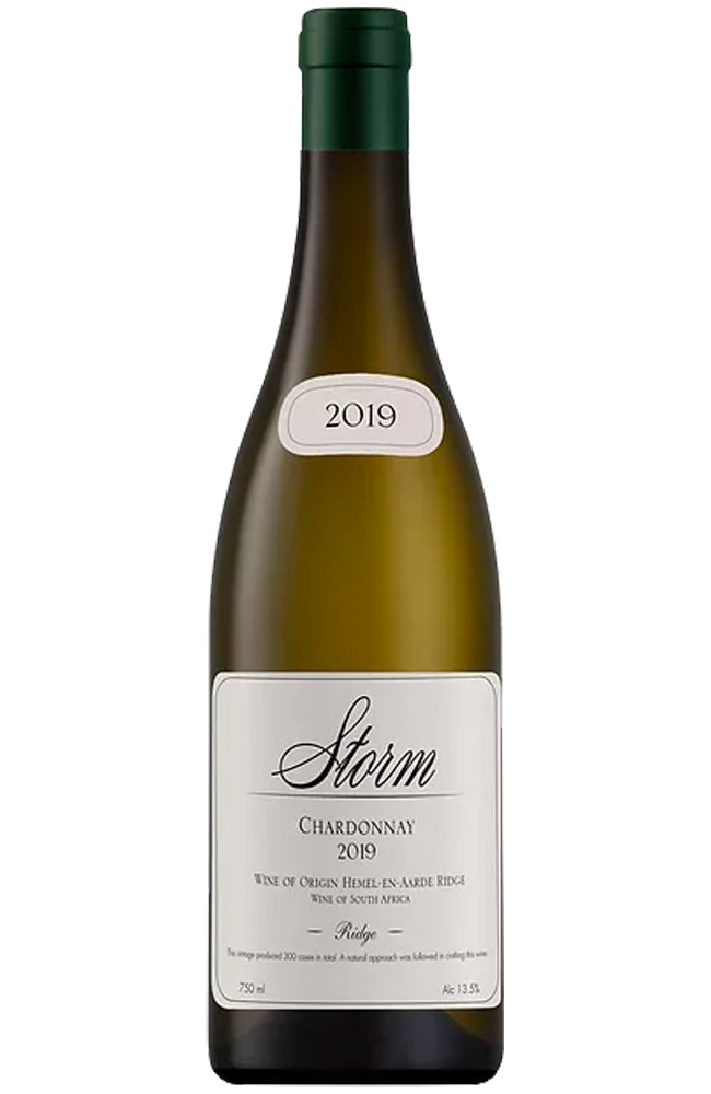 Storm Wines Ridge Chardonnay Bottle