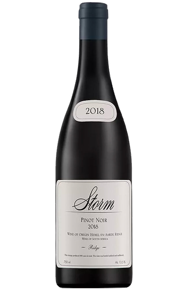 Storm Wines Ridge Pinot Noir Bottle