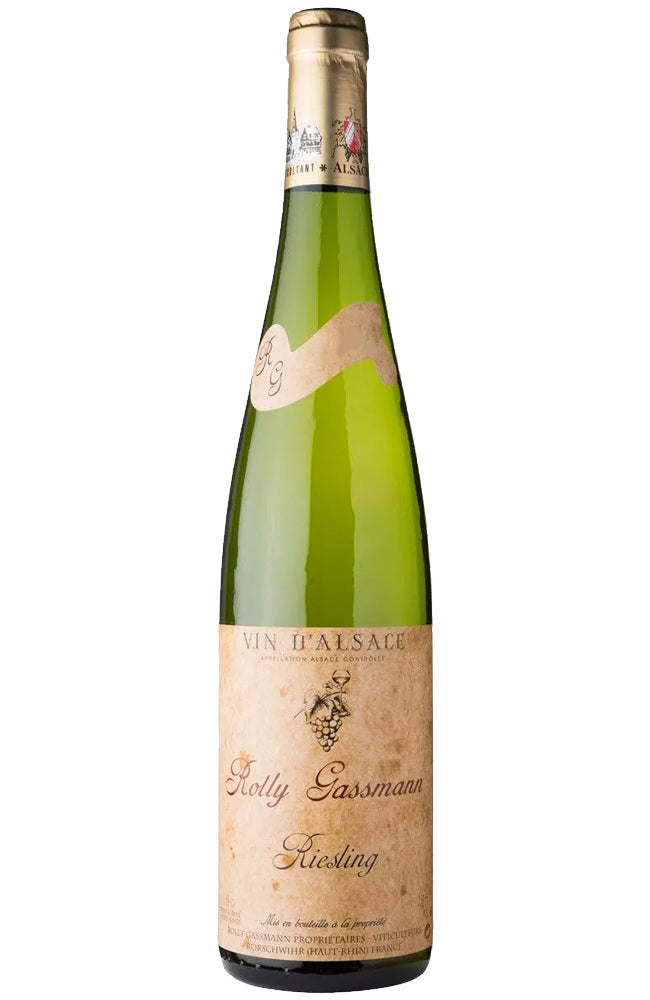 Domaine Rolly Gassmann Riesling from Alsace