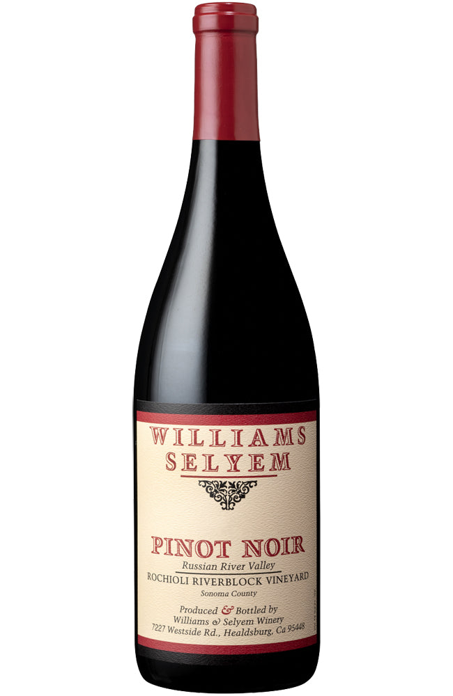 Williams Selyem Rochioli Riverblock Vineyard Pinot Noir Bottle