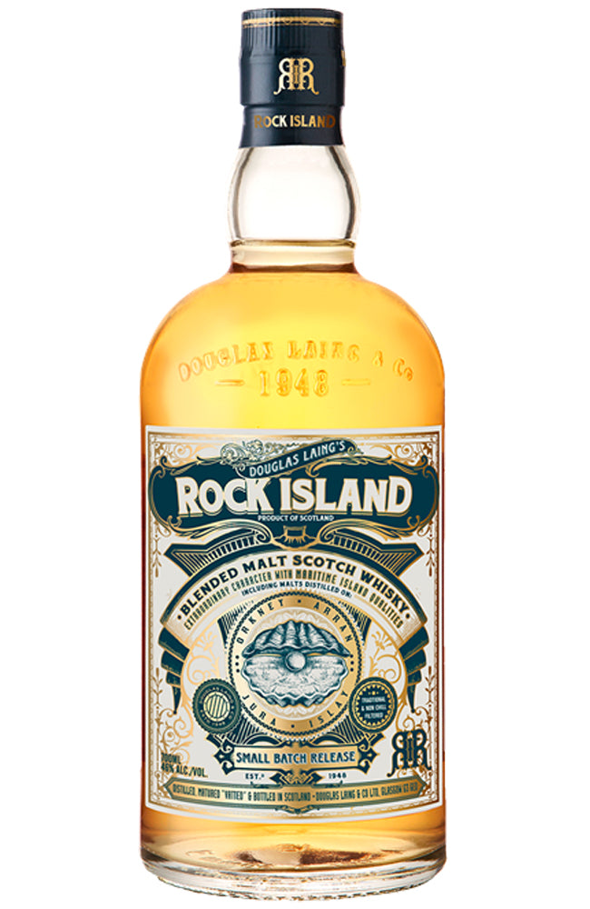 Douglas Laing's ROCK ISLAND Blended Malt Scotch Whisky