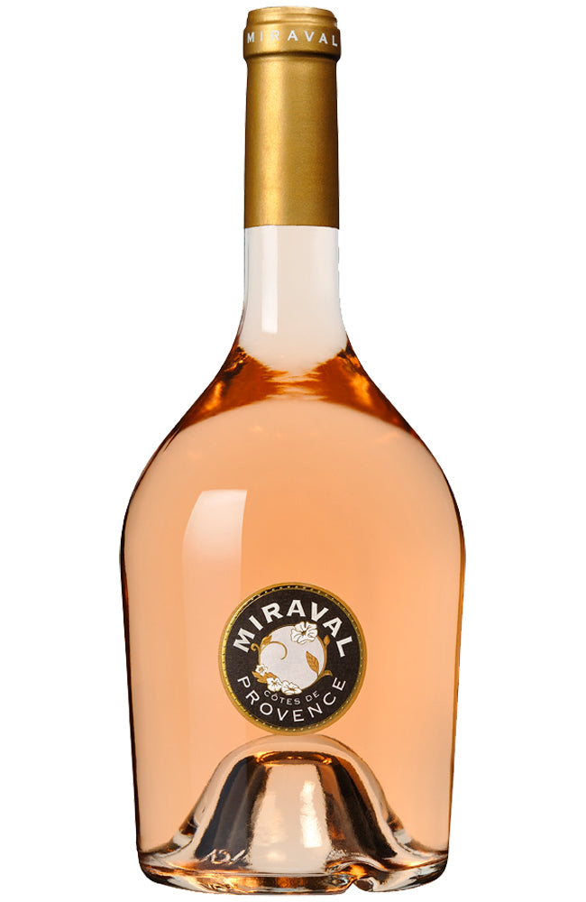 Château Miraval Provencal Rosé Wine from France