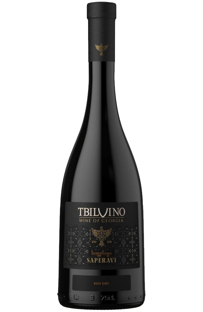Tbilvino Saperavi Georgian Red Wine