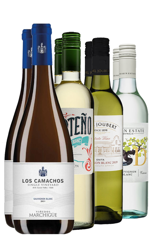 Eight Bottles of Mixed Sauvignon Blanc