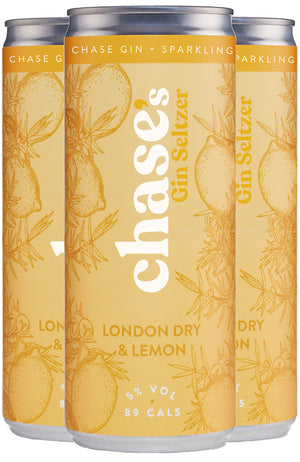 Chase's Gin Seltzer London Dry & Lemon