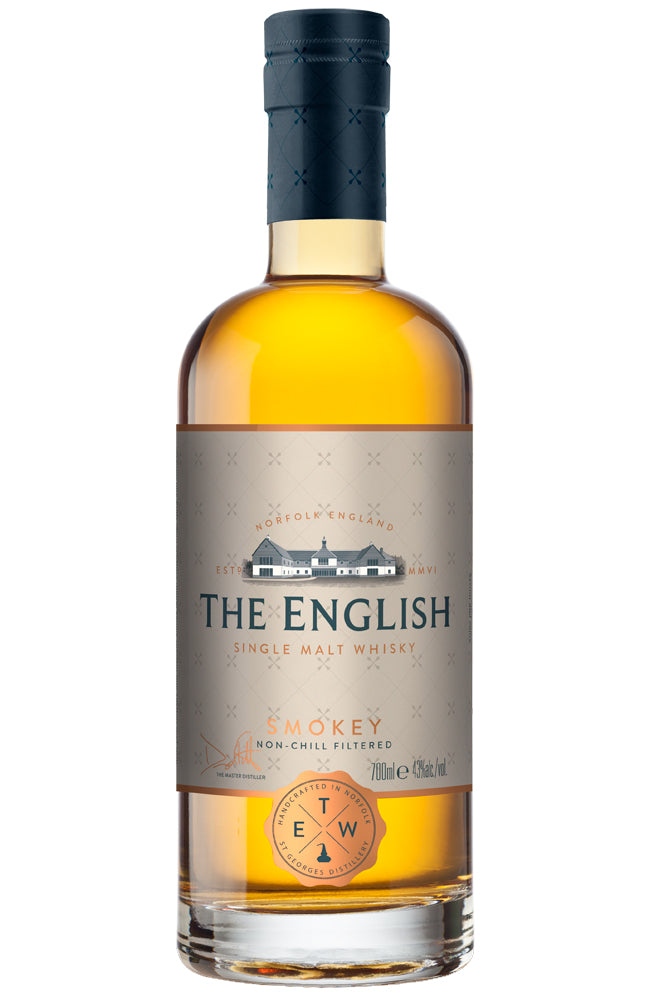The English Whisky Co. Smokey Single Malt