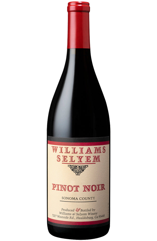 Williams Selyem Sonoma County Pinot Noir Bottle