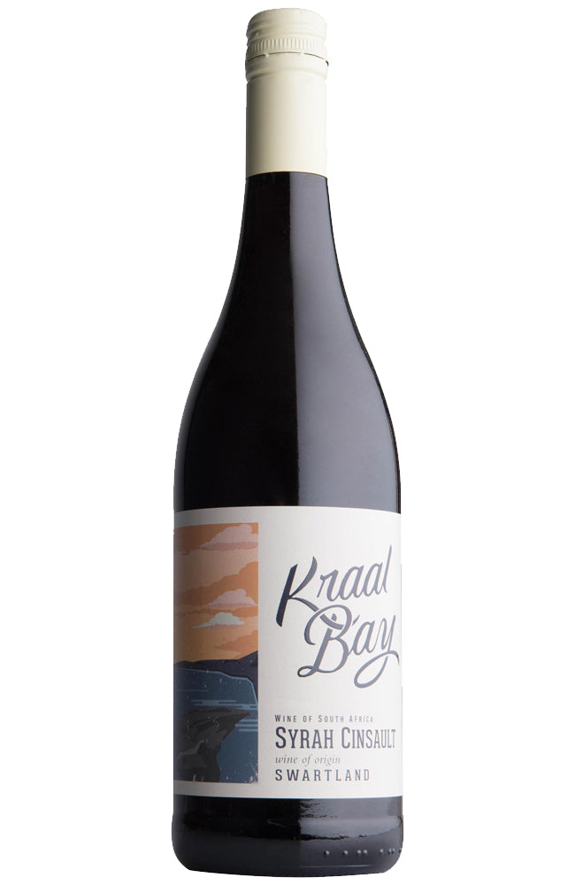 Kraal Bay Syrah Cinsault South African Red Wine