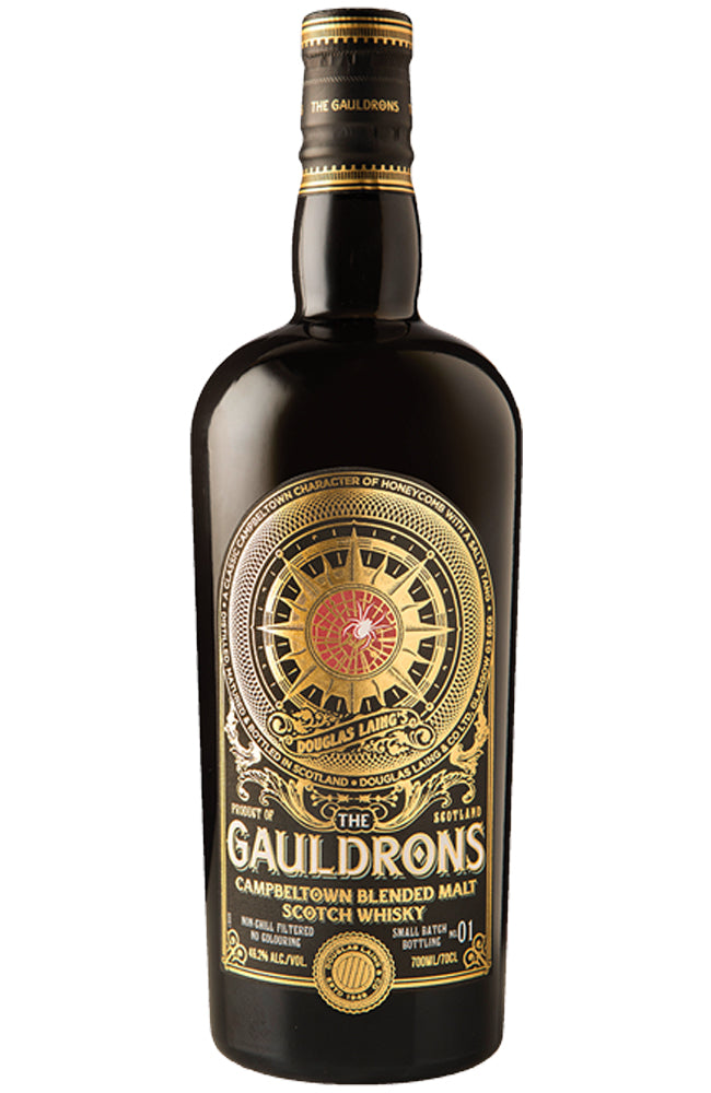 Douglas Laing's The Gauldrons Campbeltown Blended Malt Scotch Whisky