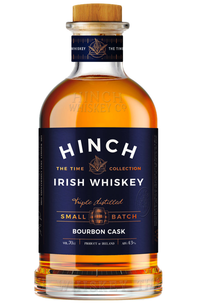 Hinch Distillery Small Batch Bourbon Cask Irish Whiskey